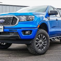 Don't these wheels make this Ranger look sick? Ready to get yourself in a new vehicle? Visit Hacienda Ford! Used Ford, Ford Ranger, Cool Trucks, Sick, Wheels, Vans, Vehicles, Van, Car