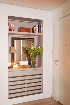 10 ideas geniales para recibidores pequeños