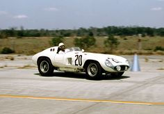 Phil Hill and Masten Gregory drove this Ferrari 857 Sport at Sebring in 1956. They were a DNF.