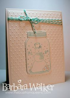 The Buzz: Christmas Card Challenge #7