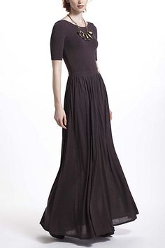 Scoopback Maxi Dress #anthropologie
