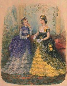 La Mode Illustrée, 1870