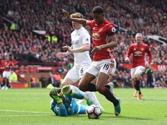 Rashford dives and Rooney scores from the spot in the 1-1 draw