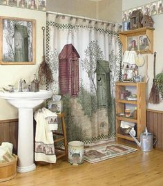 Primitive Bathroom Decor On Pinterest Primitive Bathrooms