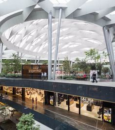 Image 27 of 32 from gallery of Parque Toreo / Sordo Madaleno Arquitectos. Photograph by Sordo Madaleno Arquitectos Commercial Architecture, Interior Architecture, Siam Discovery, Shoping Mall, Retail Facade, Mix Use Building, Mall Design, Modelos 3d, Busse
