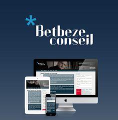 Identité et site web - Identity & website #webdesign #conseil #responsive #design