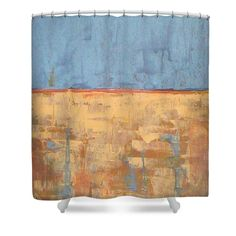 Tranquility Of Wheat Field Shower Curtain for Sale by Vesna Antic