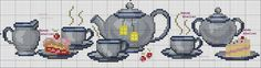 Cross Stitch Borders, Cross Stitch Designs, Cross Stitching, Cross Stitch Patterns, Cross Stitch Needles, Chain Stitch, Hobbies And Crafts, Arts And Crafts, Cross Stitch Kitchen