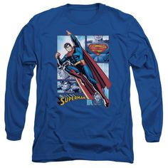 """Checkout our #LicensedGear products FREE SHIPPING + 10% OFF Coupon Code """"Official"""" Jla / Superman Panels - Long Sleeve Adult 18 / 1 - Jla / Superman Panels - Long Sleeve Adult 18 / 1 - Price: $29.99. Buy now at https://officiallylicensedgear.com/jla-superman-panels-long-sleeve-adult-18-1"""