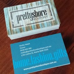 Prettyshore Boutique #businesscard #design.