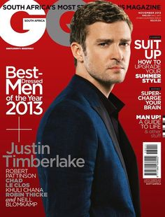 Justin Timberlake for GQ South Africa November 2013 | Art8amby's Blog