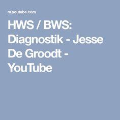 HWS / BWS: Diagnostik - Jesse De Groodt - YouTube