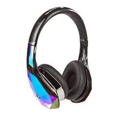 Amazon.com: Monster Diamond Tears Edge On-Ear Headphones (Black): Electronics