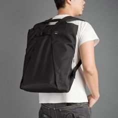 My favorite backpack of the decade- Crumpler Nhill Heist Backpack - sleek slim design. Laptop Briefcase, Laptop Backpack, Leather Backpack, 17 Inch Laptop, Duffel Bag, We Wear, Laptop Sleeves, Messenger Bag, Going Out