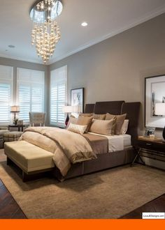 Amazing Master Bedroom Paint Colors 2017 And Bedroom Decorating Ideas With Pine  Furniture. #bedroomdesigns #