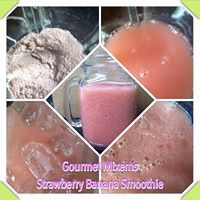 Gourmet Mixems Strawberry Banana Smoothie mix lets you enjoy the classic combination of ripe strawberries and fresh bananas in this simple smoothie mix. It only cost $5.00 and makes 6 delicious smoothies. Buy now at: http://www.mixems.net/idevaffiliate/idevaffiliate.php?id=1434