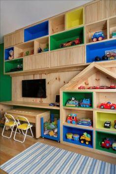 Kids Bedroom Designs, Kids Room Design, Toddler Room Organization, Kids Cafe, Kids Room Furniture, Teenage Room, Baby Bedroom, Kid Beds, Kids Decor