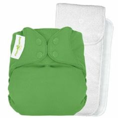 Cloth diapers are genius. This bumGenius 4.0 One-Size Snap Closure Cloth Diaper is the best. The boys wear these overnight for 10 hours and they never leak!