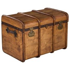 French Traveling Trunk, Early, 1900s   From a unique collection of antique and modern trunks and luggage at https://www.1stdibs.com/furniture/more-furniture-collectibles/trunks-luggage/