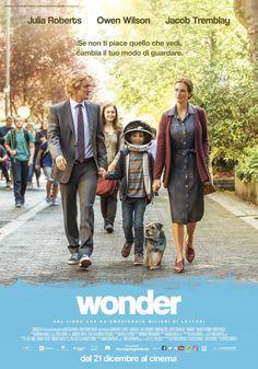 Wonder, scheda del film con Julia Roberts e Jacob Tremblay, leggi la trama e la recensione, guarda il trailer, trova la data di uscita al cinema.
