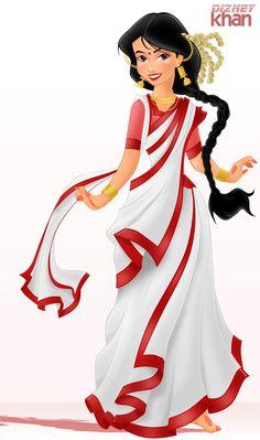 renamok: A Beautiful Bengali Woman by ArsalanKhanArtist