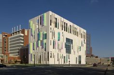 Campus Sur de Plantas Enfriadoras de la OSU by Ross Barney Architects (Columbus, Ohio, Estados Unidos) #architecture