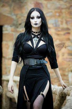 The Black Metal Barbie