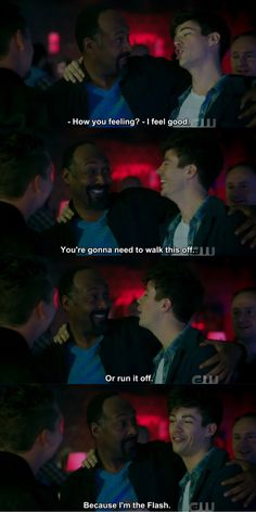 "#TheFlash 4x05 "" Girls Night Out"" <<< if you have to explain the joke, it ain't funny."