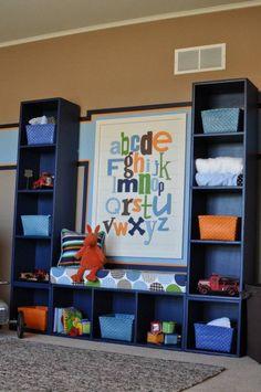 O quarto das crianças é sempre cheio de coisas, mas essas ideias de arrumação, estantes, cestos e mais, podem ajudar na arrumação.