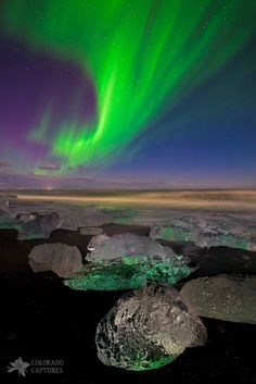 """In my recent visit to Iceland, I got to see some incredible sights. And I was especially fortunate to see really good Aurora activity on two nights - my first night on the island and again on this,."