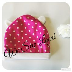 Reversible Baby Beanie $9 from We Sew Local