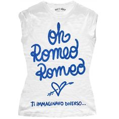 "T-SHIRT DONNA ""OH ROMEO"""
