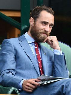 James Middleton, irmão caçula da Duquesa de Cambridge Kate Middleton.
