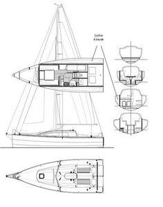 relacion velero tamaño vela - Buscar con Google