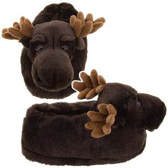 Dad had these back in the day... Moose slippers!!! I had forgotten all about them!!!