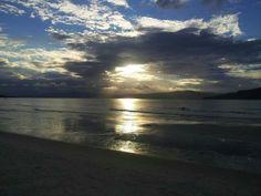 Pôr do sol na Praia do Forte
