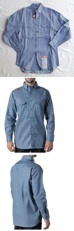 Shirts 175630: Walls Fr Big Men S Flame Resistant Woven Chambray Shirt, Hrc Level 2 Size 2Xl -> BUY IT NOW ONLY: $39.99 on eBay!
