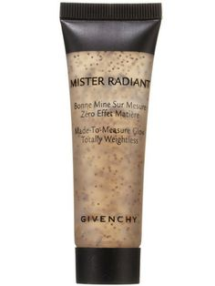 Gold cheeks: Givenchy Mister Radiant is a bronzing gel with a velvety finish
