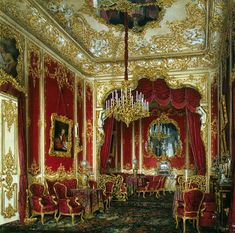 State Hermitage Museum - Saint Petersburg, Russia / Interiors of the Winter Palace. The Boudoir of Empress Maria Alexandrovna Imperial Palace, Imperial Russia, Imperial Eagle, Palaces, Winter Palace, Hermitage Museum, Petersburg Russia, Beautiful Architecture, Architecture Interiors