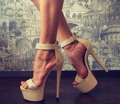 Sexy Legs And Heels, Sexy High Heels, High Heels Stilettos, Stiletto Heels, Shoes Heels, Beautiful High Heels, Gorgeous Feet, Girls Heels, Killer Heels