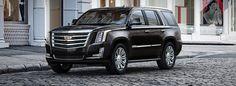 l'extérieur du Cadillac Escalade 2017 enNoir jais