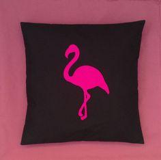 Pink Flamingo  Alice In Wonderland Black Unique by BeUniqueBaby