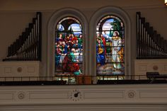Tiffany Windows « 1st Church