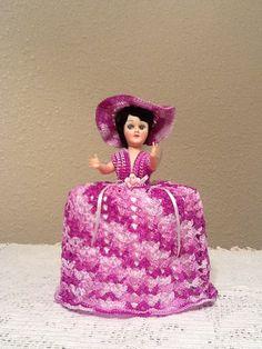 Beautiful Handmade Crochet Doll Toilet Paper Holder by SylviaCrochets, $19.99