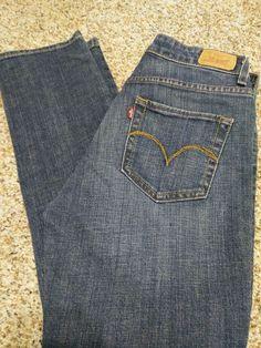 a62b9ce91d0 Women's Levi's Mid Rise Skinny Stretch Jeans Size 6 S/C Medium Wash