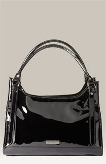Burberry Patent Leather Shopper