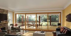Image result for sliding glass wall