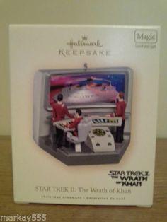 Star Trek II The Wrath of Khan 2007 Hallmark Keepsake Christmas Ornament New | eBay