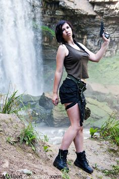 Lara Croft Cosplay...