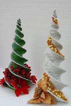 vianočný stromček v mojom prevedení:-), Papierové pletenie | Artmama.sk
